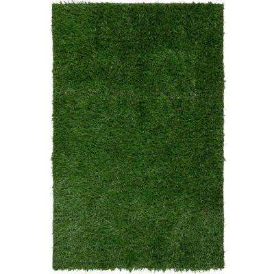 Garden Grass Collection Artificial Grass Synthetic Lawn Turf Indoor/Outdoor Carpet 4 ft. x 7 ft.