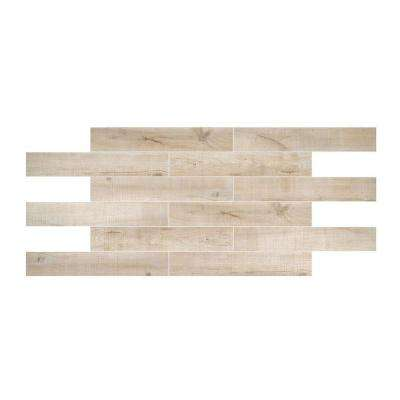 Montagna Capewood 6 in. x 36 in. Glazed Porcelain Floor and Wall Tile (14.50 sq. ft. / case)