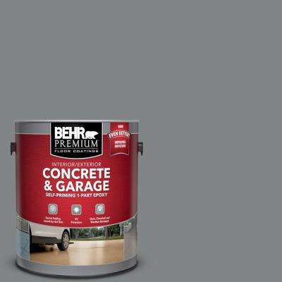 1 gal. #PFC-63 Slate Gray Self-Priming 1-Part Epoxy Satin Interior/Exterior Concrete and Garage Floor Paint