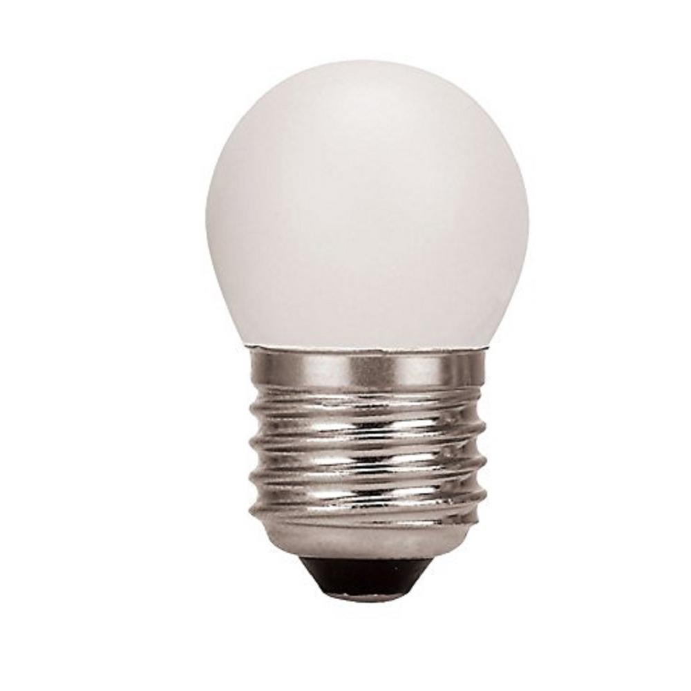 Halco Lighting Technologies 7 5-Watt Equivalent 1-Watt S11 Dimmable LED  White Sign Light Bulb 80526