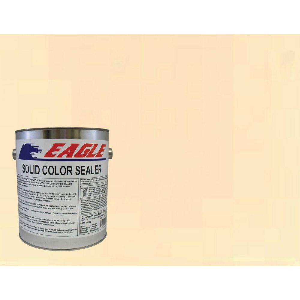 1 gal. Aztec Sand Solid Color Solvent Based Concrete Sealer