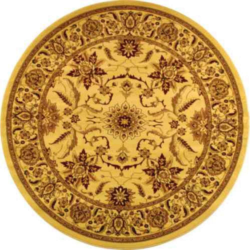Safavieh Lyndhurst Ivory 5 ft. 3 in. x 5 ft. 3 in. Round Area Rug