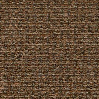 Carpet Sample - Top Street - Color Silent Sands Loop 8 in. x 8 in.