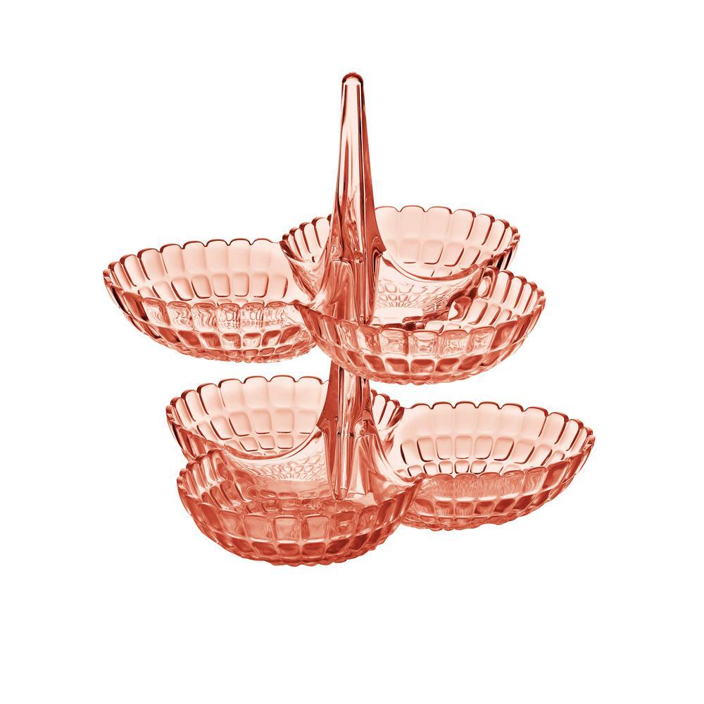 Guzzini Tiffany 2-Piece Hors D'Oeuvres Dishes by Guzzini