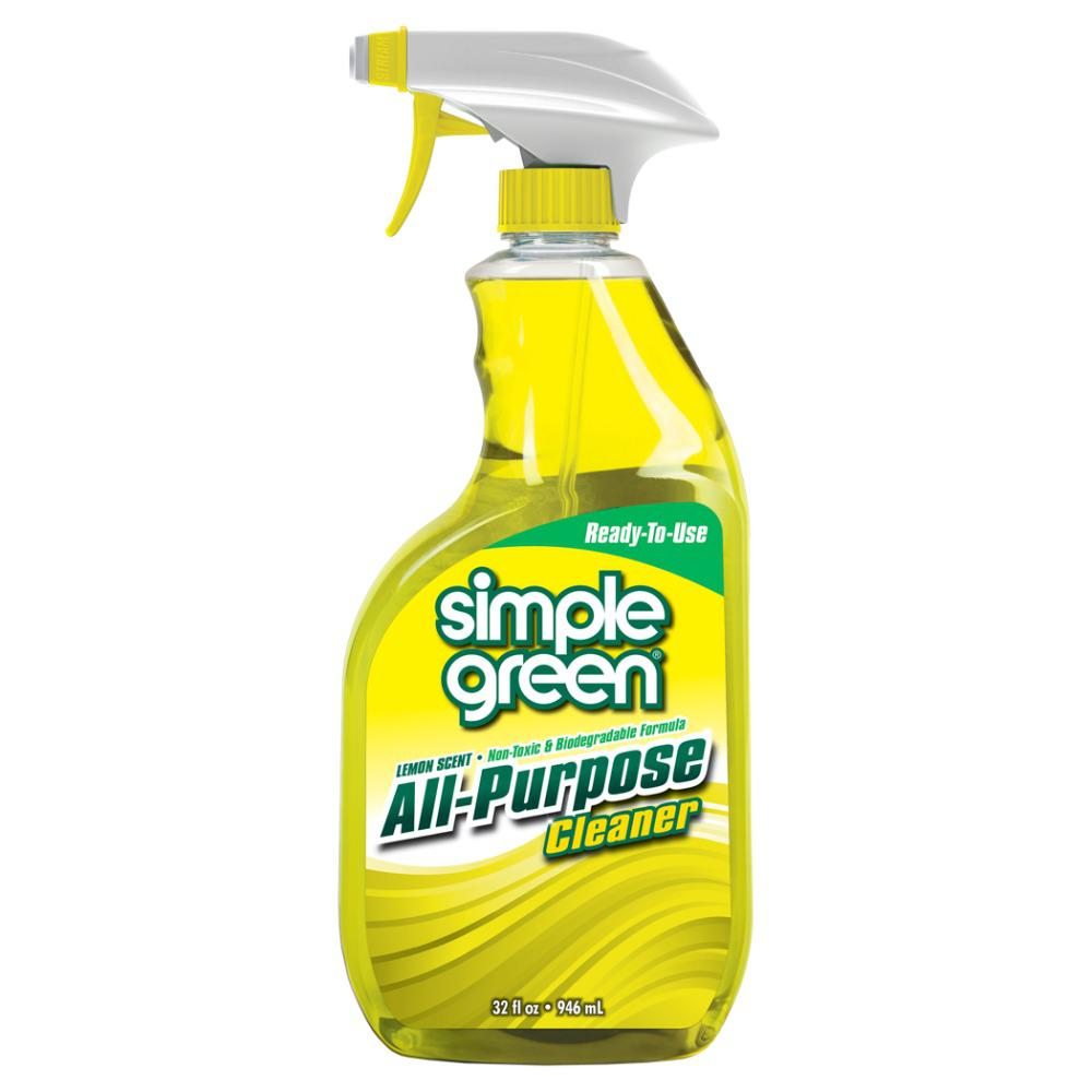 32 oz. Lemon Scent Ready-To-Use All-Purpose Cleaner (Case of 12)