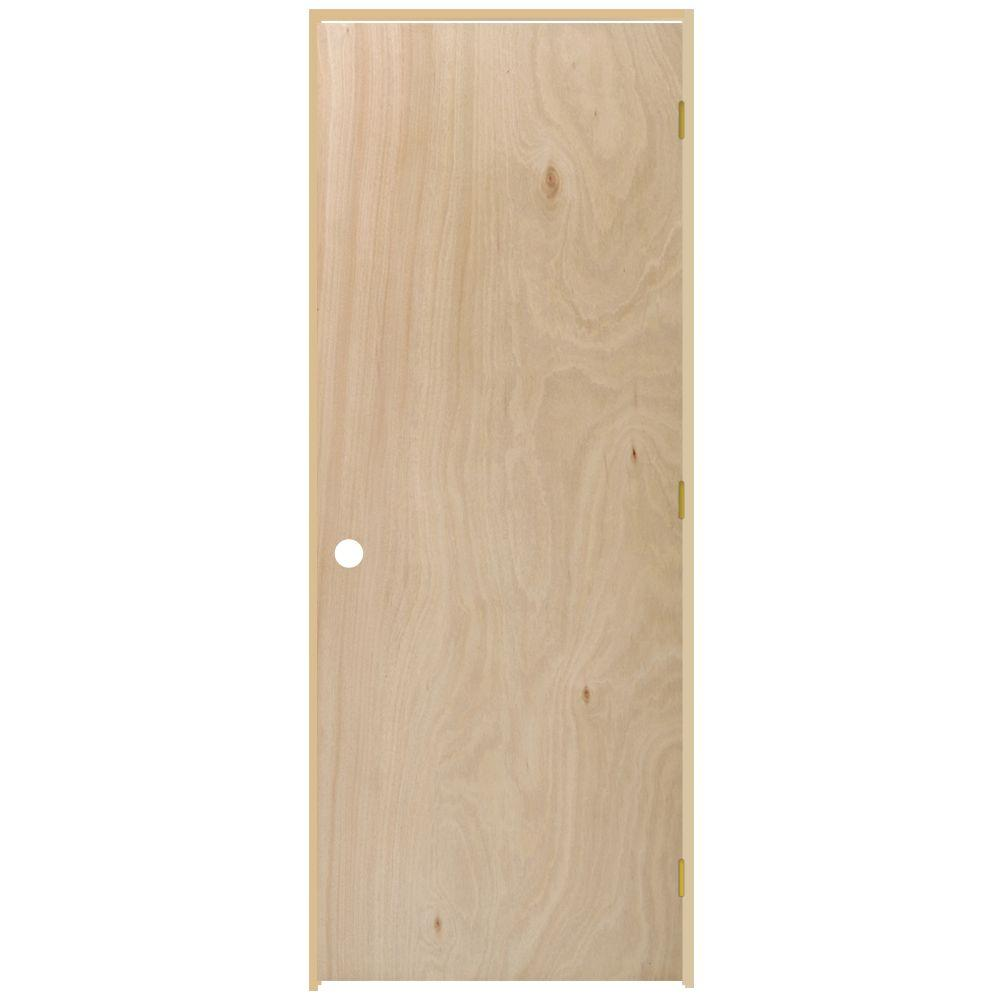 Steves sons 18 in x 80 in flush hollow core unfinished for 18 x 80 closet door