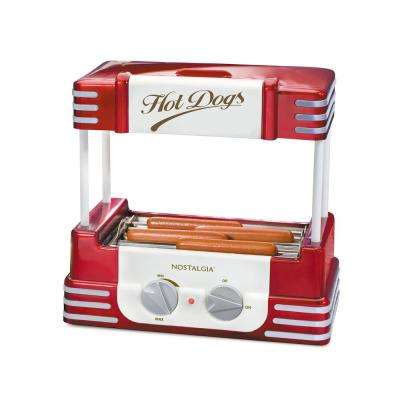 Retro Series Hot Dog Roller Grill