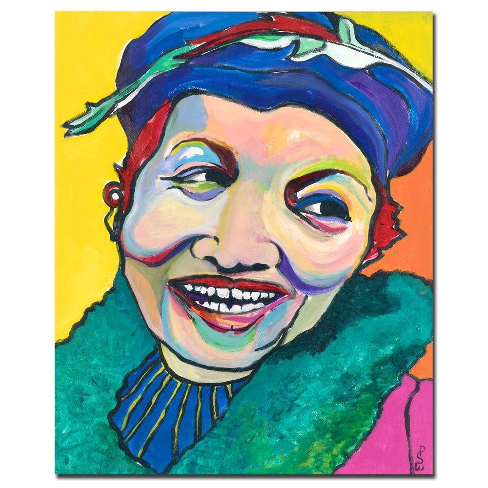 35 in. x 47 in. Koko Vivienne Canvas Art