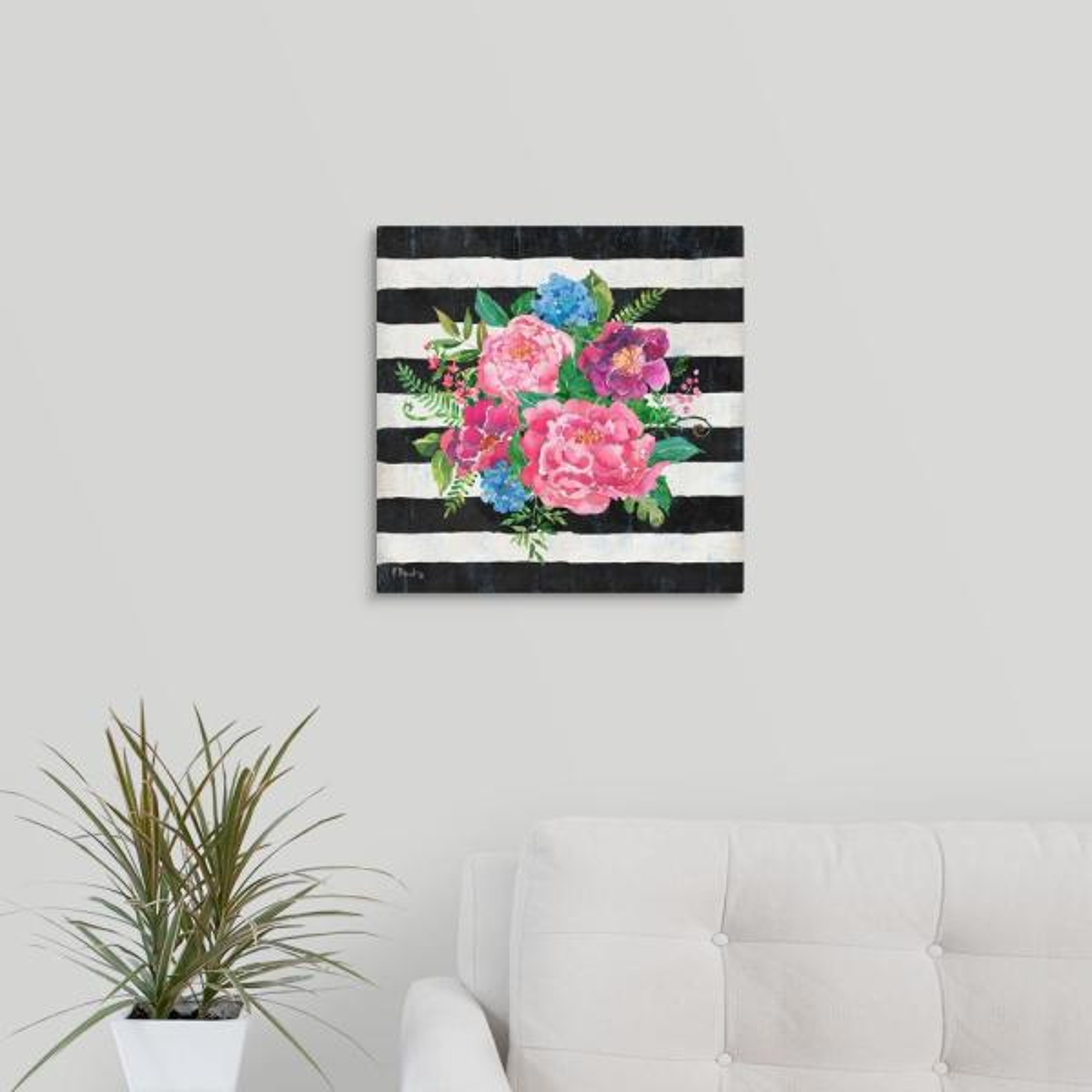 GreatBigCanvas ''Juliette Bouquet I'' by Paul Brent Canvas Wall Art