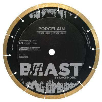 8 in. Reinforced Hub Hard Porcelain Blade 0.050 x 5/8 in. Wet