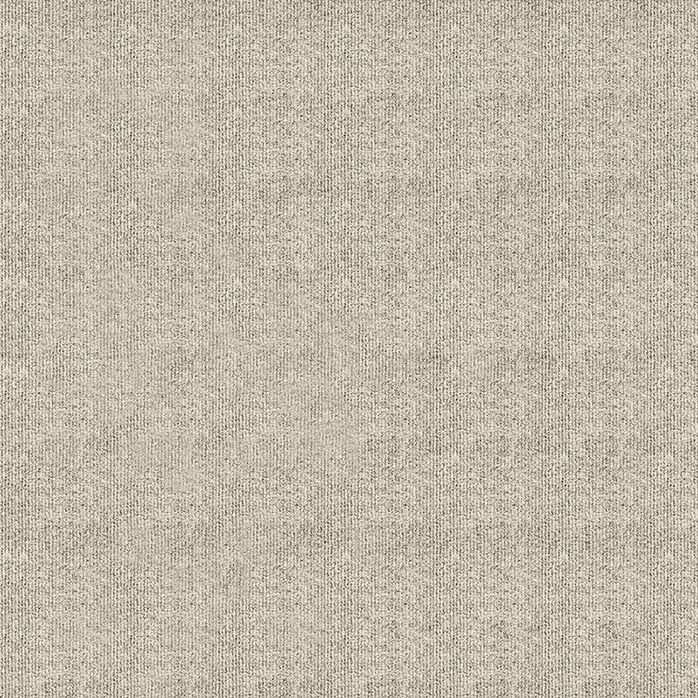 First Impressions Ivory Ribbed Texture 24 in. x 24 in. Carpet