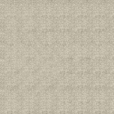 First Impressions Ivory Ribbed Texture 24 in. x 24 in. Carpet Tile (15 Tiles/Case)