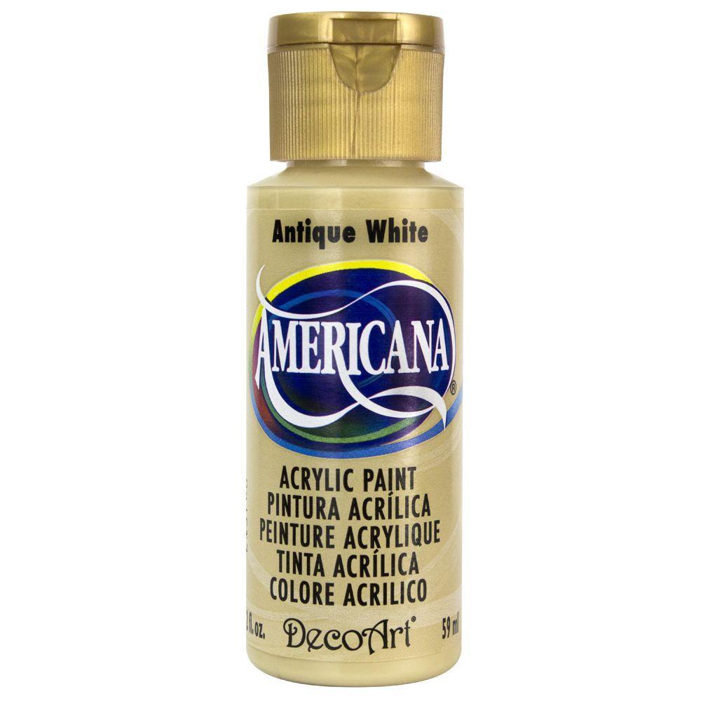 Americana 2 oz. Antique White Acrylic Paint