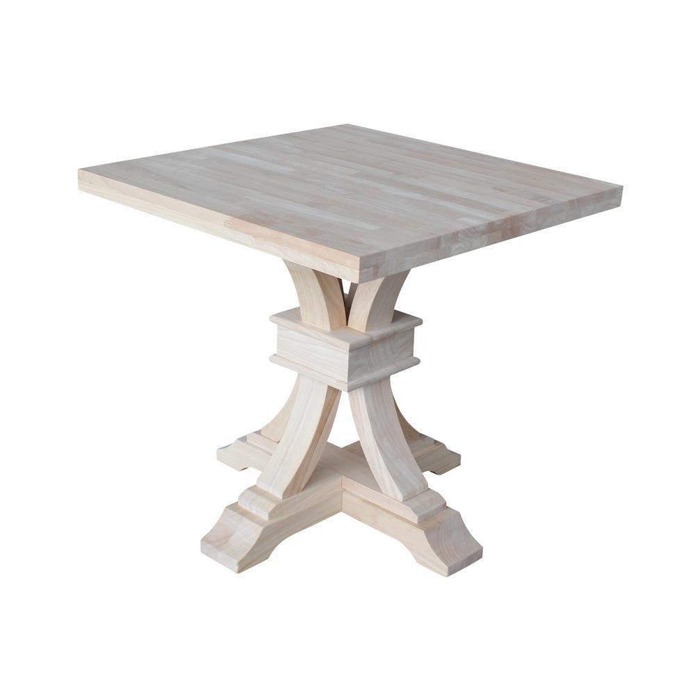 International Concepts Portman Unfinished End Table Ot 41