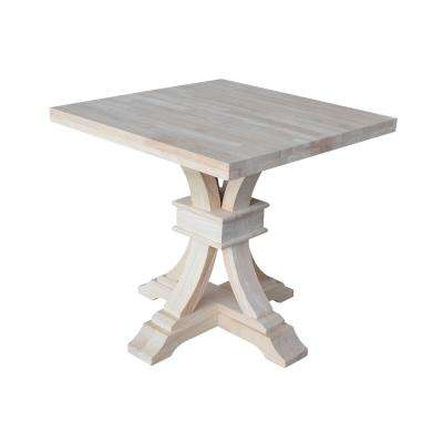 Caitlyn Solid Wood Ready to Finish End Table