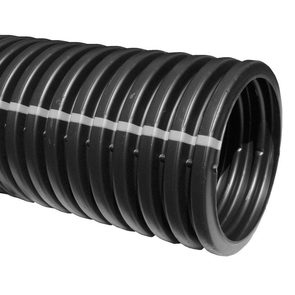 4 in. x 10 ft. Corex Leach Bed Drain Pipe