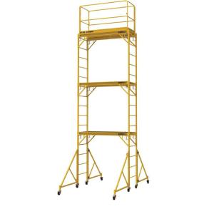 MetalTech 18 ft. x 2 ft. x 6 ft. Steel Jobsite Series Baker Scaffold Tower with 1000 lb. Load... by MetalTech