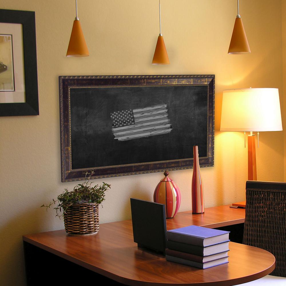 78 in. x 24 in. Roman Copper Bronze Blackboard/Chalkboard