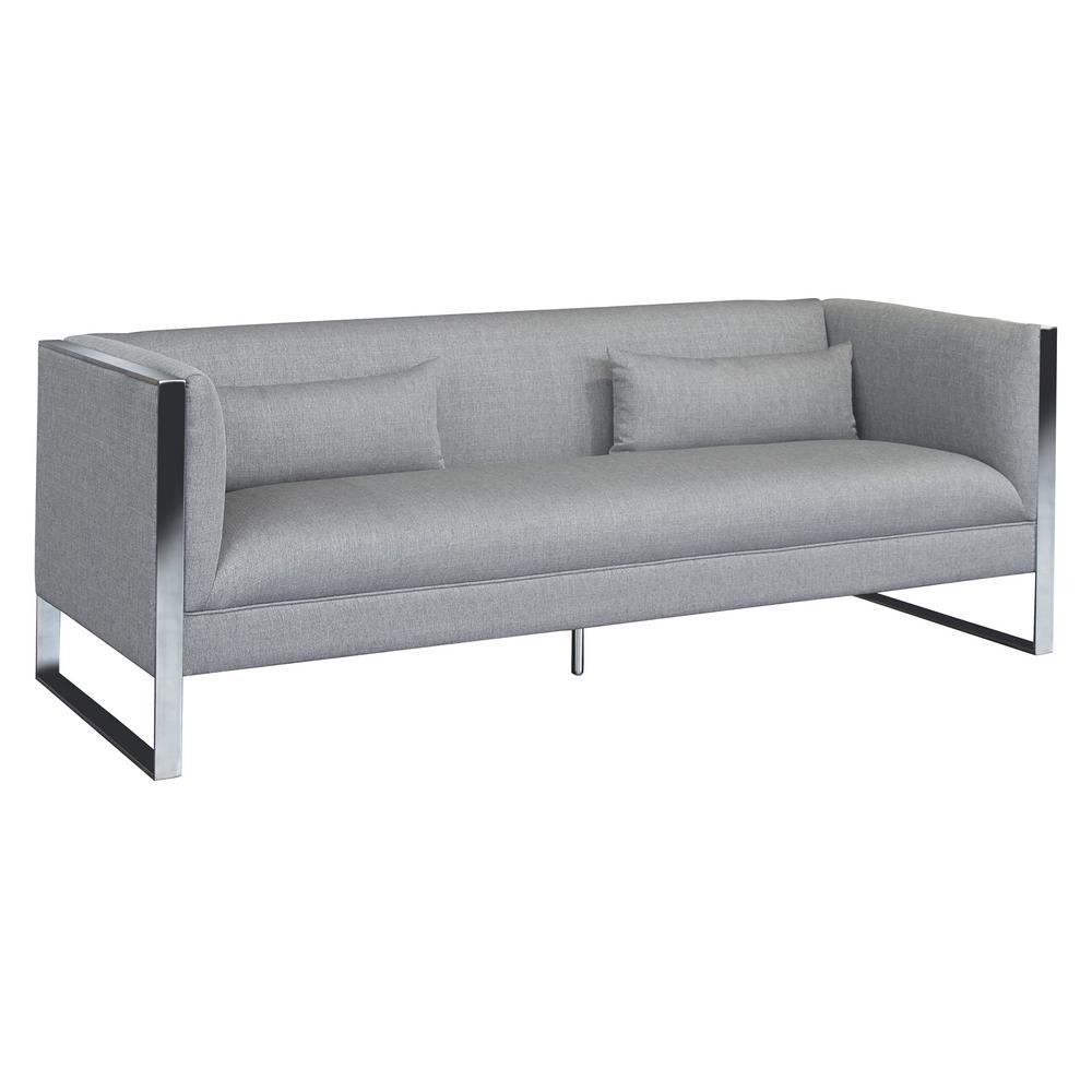 Royce Grey Fabric Sofa