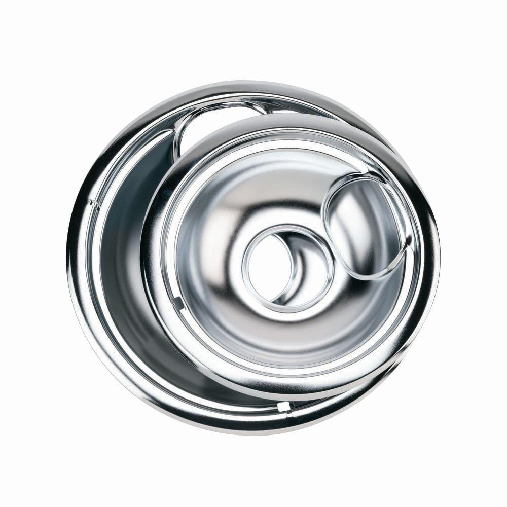 Ge drip pans for electric ranges 4 pack ge68c the home depot ge drip pans for electric ranges 4 pack publicscrutiny Images