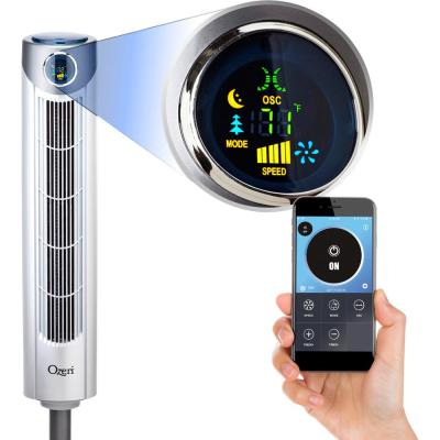 Ultra 42 Oscillating Tower Fan with Bluetooth and Noise Reduction Technology
