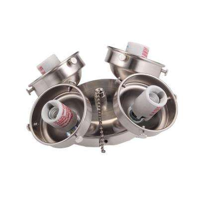 Clarkston 52 in. Nickel Light Kit