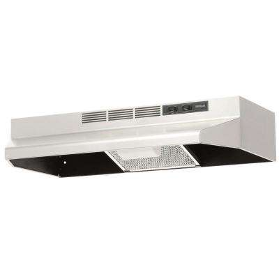 41000 Series 30 in. Non-Vented Range Hood in Stainless Steel