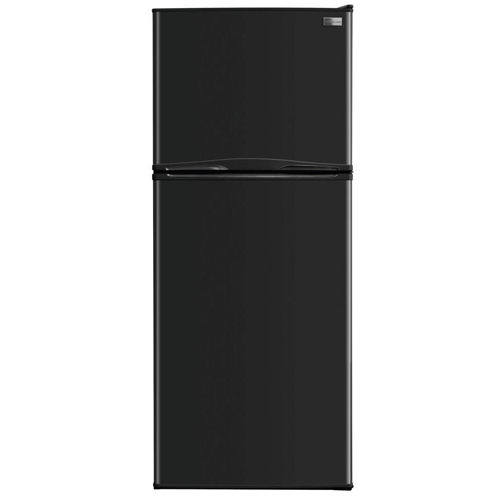 Frigidaire 12 cu. ft. Top Freezer Refrigerator in Black-DISCONTINUED