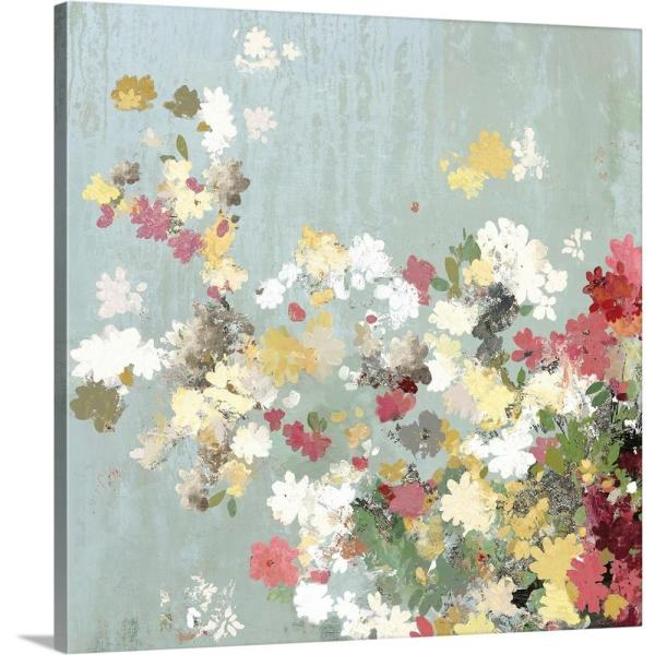 GreatBigCanvas ''Abstract Bouquet I'' by Allison Pearce Canvas Wall Art