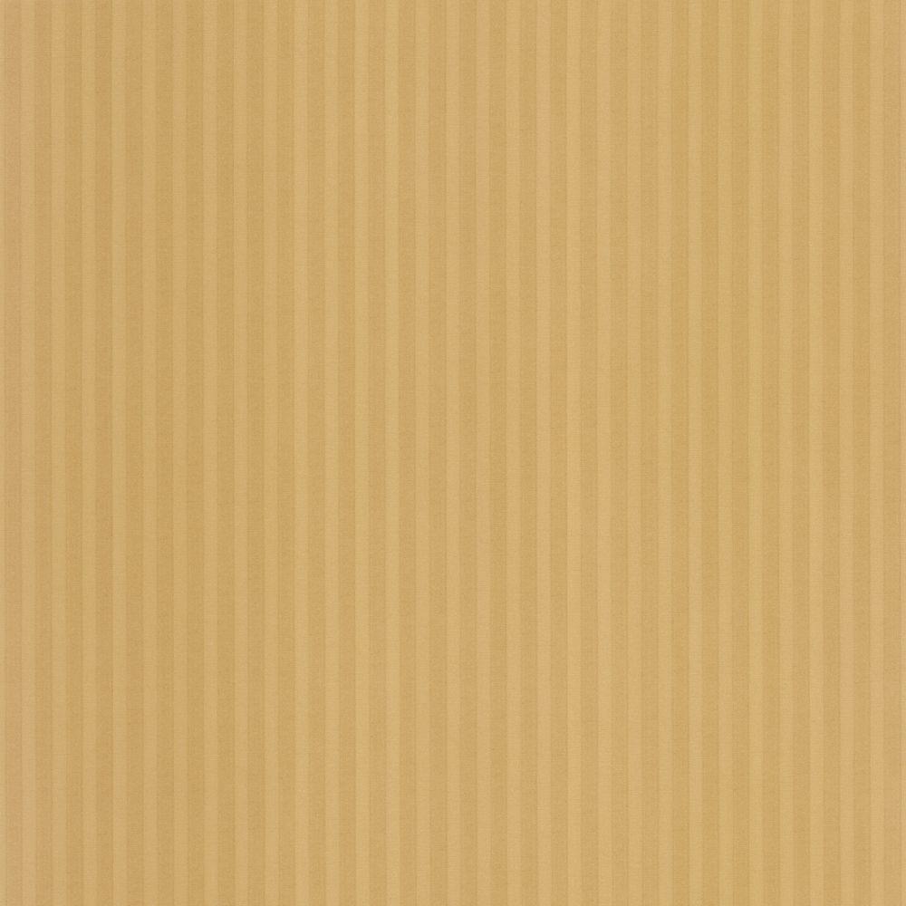 The Wallpaper Company 8 in. x 10 in. Tan Capri Stripe Wallpaper Sample