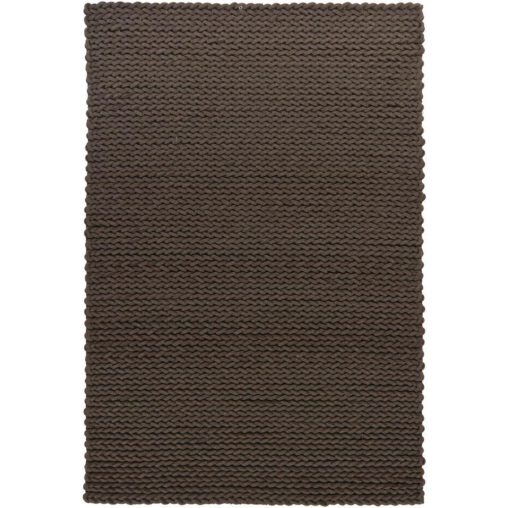 Chandra Zensar Brown 5 ft. x 7 ft. 6 in. Indoor Area Rug