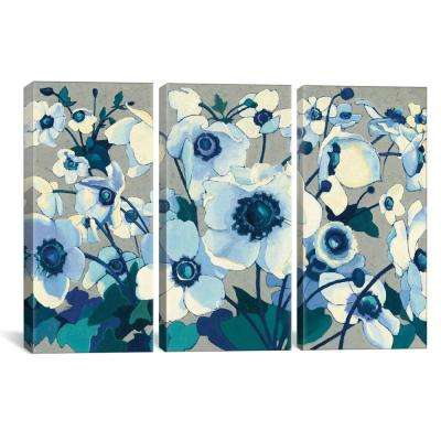Anemones Japonaises I by Shirley Novak Canvas Wall Art