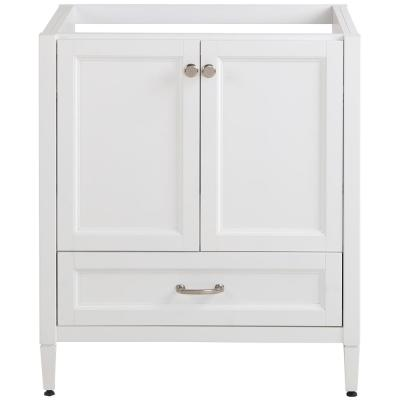 Claxby 30 in. W x 34 in. H x 21 in. D Bath Vanity Cabinet Only in White