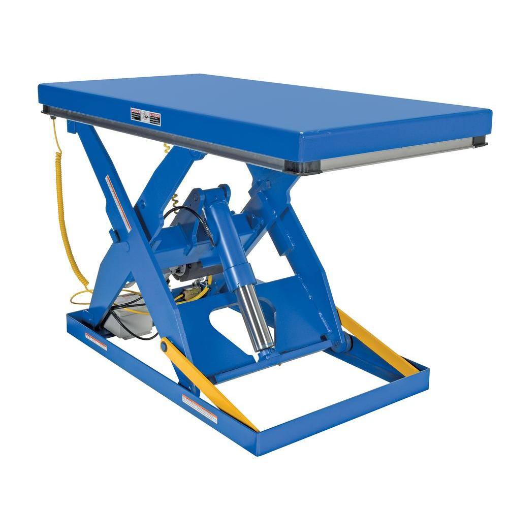 Vestil 3,000 lb  30 in  x 60 in  Electric Hydraulic Scissor Lift Table