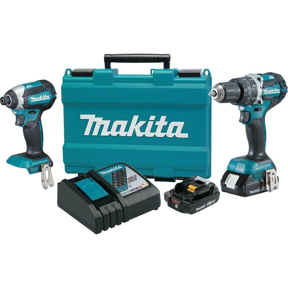 Makita Power Tool Combo Kits Power Tools The Home Depot