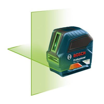 Factory Reconditioned 100 ft. Self-Leveling Green-Beam Cross-Line Laser Level