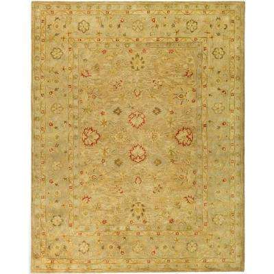 Antiquity Brown/Beige 8 ft. x 10 ft. Area Rug