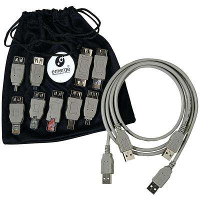 USB 2.0 Universal Cable Adapter Kit