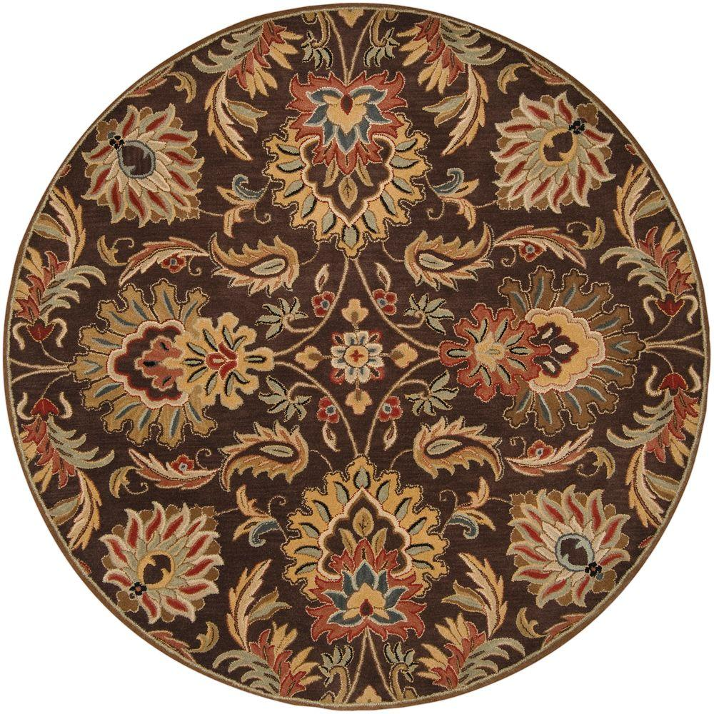 John Brown 8 ft. Round Area Rug