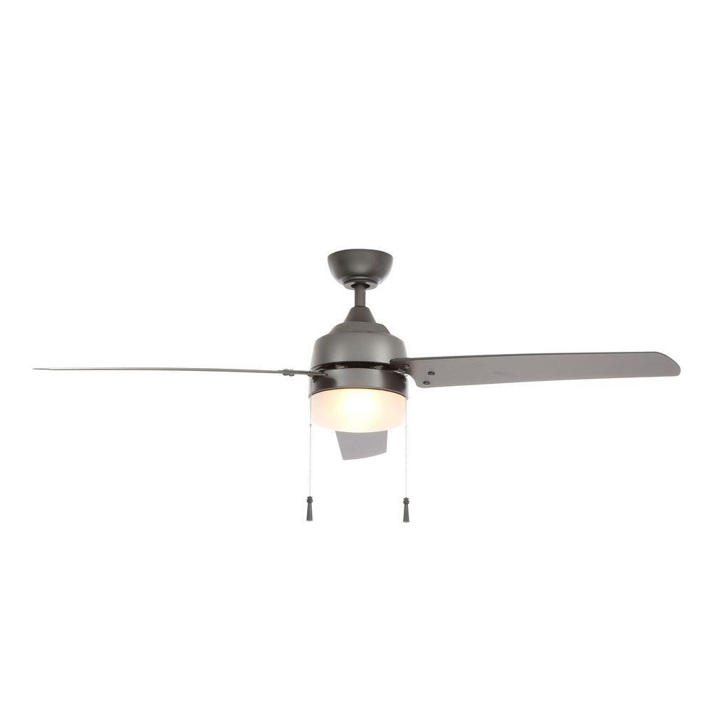Hampton Bay Carrington 60 in. Natural Iron Ceiling Fan