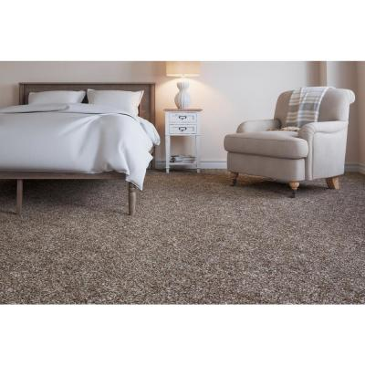 Superiority II - Color Estate Greige Texture 12 ft. Carpet