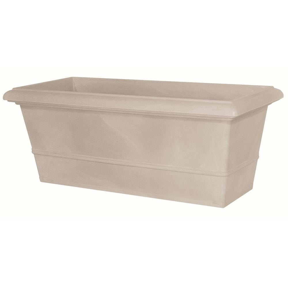 Marchioro 39.5 in. Havana Rectangle Planter Pot
