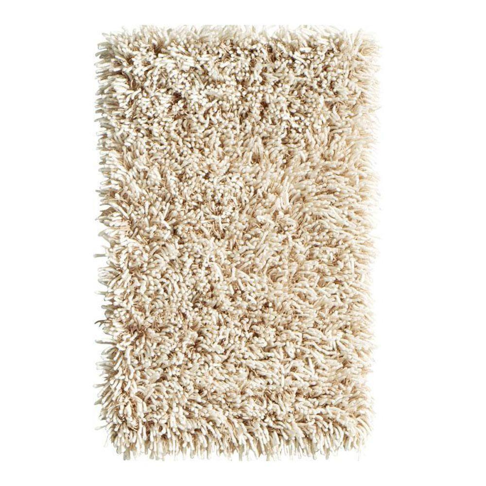 Home Decorators Collection Ultimate Shag Oatmeal 1 ft. 8 in. x 2 ft. 8 in. Accent Rug