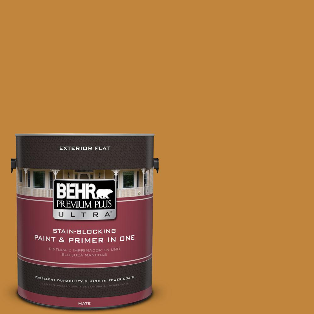 BEHR Premium Plus Ultra 1-gal. #M260-7 Back to School Flat Exterior Paint