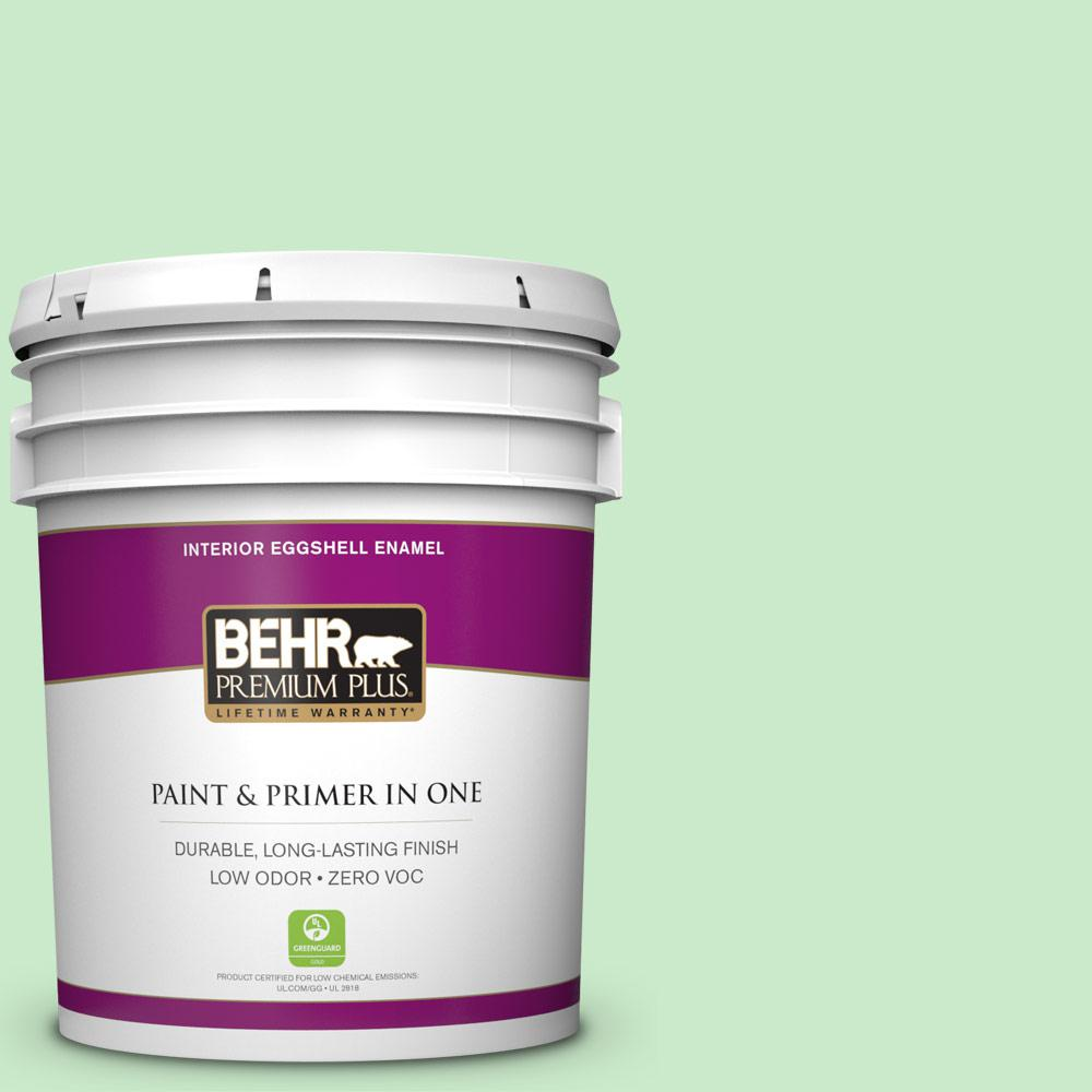 BEHR Premium Plus 5-gal. #P390-2 Chilled Mint Eggshell Enamel Interior Paint