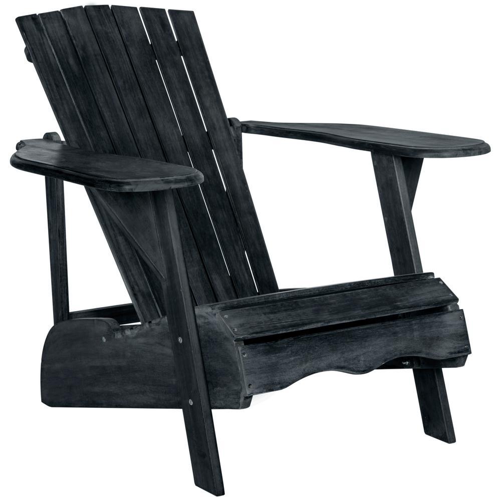 Mopani Dark Slate Gray Wood Adirondack Chair