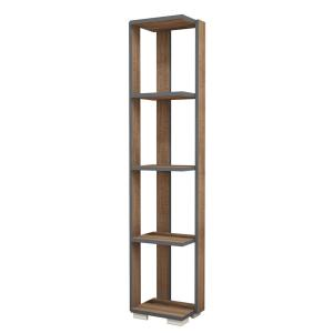 Salem Walnut Modern Bookcase