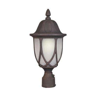 Greenwood Autumn Gold Outdoor Post Lantern