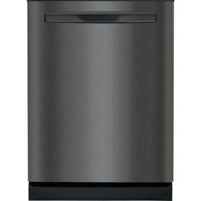 Top Control Tall Tub Built-In Dishwasher with Dual OrbitClean Spray Arm in Black Stainless Steel, ENERGY STAR, 49 dBA