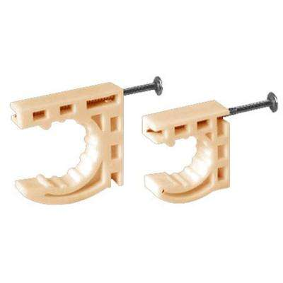 1 in. CTS Half Clamps with Pre-Loaded Nail (50-Pack)